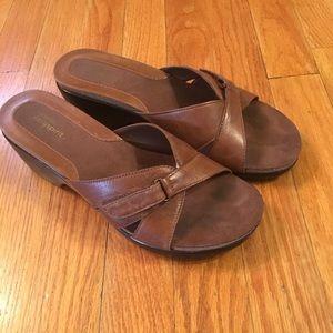Easy Spirit jprockon slide sandals size 8
